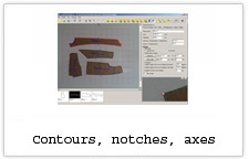 EuroCAD Photo Digitizer - contours, notches, axes
